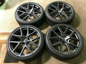 20 Avante Garde Volkswagen wheels and 245/30ZR20 All-season performance Tires (Golf, Jetta)