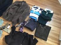 Menswear polo Ralph Lauren clothes bundle