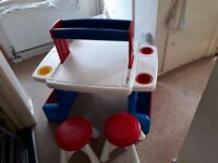 Art table for sale (suitable for 2 kids)