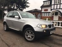 Bmw x3 diesel se, full service history, 1 year mot, leather interior, excellent condition.