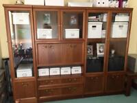 Dining room furniture display cabinet - 3 separate items