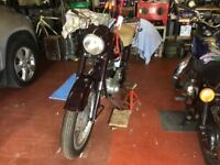 Ariel 350cc 1957 Just Been Restored Great Condition