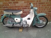 HONDA C50 / C90 PROJECT .. LOOKING FOR SOMEONE TO RESTORE
