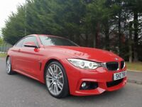 OCTOBER 2014 BMW 435i PETROL M-SPORT AUTOMATIC 1OWNER FROM NEW STUNNING CAR GREAT PERFORMANCE 306BHP
