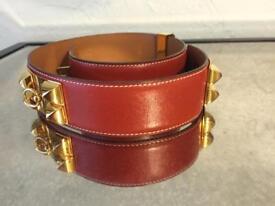 Authentic Hermès CDC belt