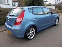 Hyundai i30 1.6 CRDi Premium 5dr (blue) 2011