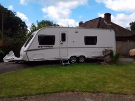 Abbey Expression 640 2008/9 4 berth caravan twin axle
