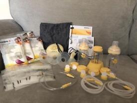 Medela Swing Breast Pump + Accessories