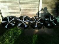 22 inch alloys, wheels, 5x130