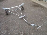 stainless launching trolley