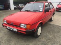for sale 1988 fiesta mk2.....price£ 1499