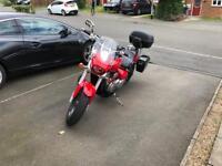 Motorbike, Suzuki Intruder M800, 2015, 4k miles