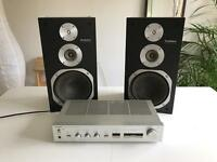 Technics Speakers & Amplifier