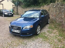 2007 Audi A4 (B7) Avant 2.0 TDI S-Line 170 ***ONE PREVIOUS OWNER***