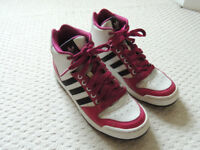 Womens Adidas High Top Trainers Size 6.5