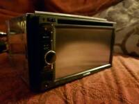 Kenwood double din Bluetooth car stereo