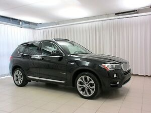 2016 BMW X3 28i xDRIVE AWD w/ PREMIUM ENHANCED PACKAGE, NAV, H