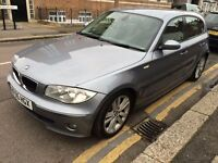 BMW 120D DIESEL SPORT 2005 12 STAMPS, LONG MOT 2 KEYS 2 FORMER OWNER CLEAN CAR DRIVES WELL HPI CLEAR