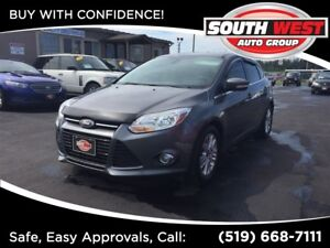 2012 Ford Focus SEL, LEATHER, ROOF, NAVIGATION.
