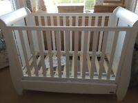 Tutti Bambini Cot Bed with drawer and Mattress