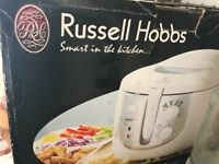 New Russell Hobbs Purify Deep Fryer 11259 - Classic White