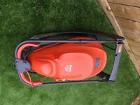 Both for £30. Flymo Easi glide 300v lawn mower. Strimmer also.