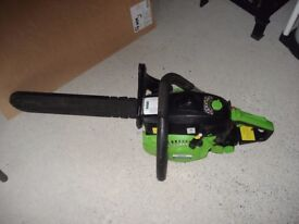 16 inch chainsaw. Only used once!
