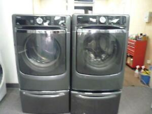 48-  Laveuse Sécheuse Frontales MAYTAG MAXIMA XL 4.3  Frontload Washer Dryer