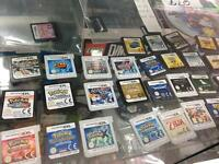 Various Nintendo DS and 3DS games for sale