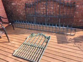 Top Quality Galvanised Bi-folding Gates Railings- can deliver