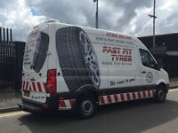 """MOBILE TYRE FITTING """"""""WE COME TO YOU!!!"""""""""""