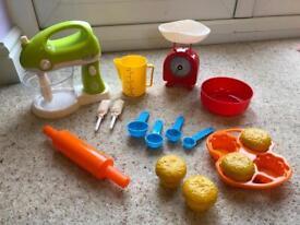 Toy baking set