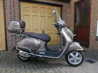 Vespa GTS 300 Touring Special Edition in Brown Metallic, registered in 8/2015 and used for 800 miles