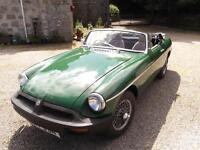 mgb roadster sports 1975,free delivery uk mainland/tax exempt