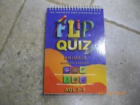 Flip & Quiz Book Animals Age 7-9