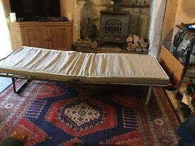 Single British Made Folding Bed including Mattress