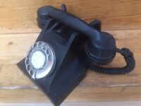 Old telephone hand set