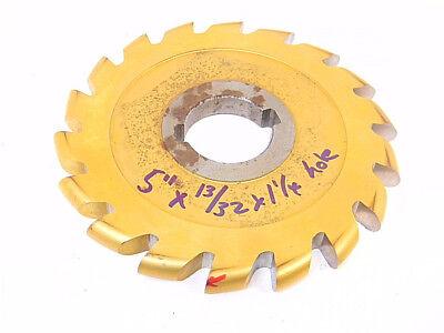 Resharpened Convex Cutter 5 X 1332cd X 1-14hole Circle Cutter