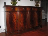 Mahogany Dining Set & Sideboard - MUST SELL BY END OCTOBER