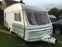 Caravan 4/5/6 berth Swift Azzura 1995 lovely condition *awning available Light weight Clevedon