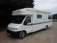 Fiat Ducato Autotrail Scout Motorhome U Shaped Lounge 2.8TDI Sought after model with every luxury