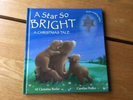 2 new children's books A Star so Bright a Christmas Tale, Goodnight Sleep Tight