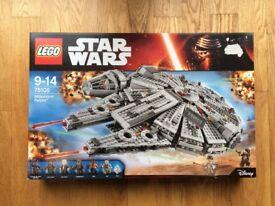 LEGO 75105 Star Wars Millennium Falcon - Brand New in Sealed Box
