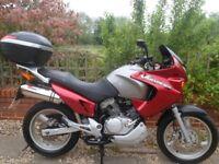 Honda Varadero XL125 learner legal big bike