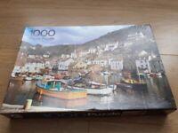 Cornish Fishing Village Jigsaw Puzzle