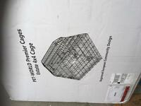 Offers accepted! Dog cage for car boot with divider