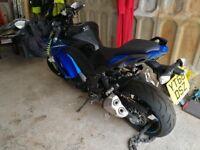 Kawasaki Z1000... Blue.... 66plate