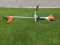 High powered grass and weed strimmer