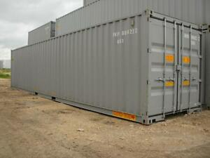 ON SITE CARGO STORAGE CONTAINERS / SEACANS FOR RENT