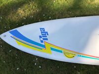 Tiga Windsurf board and sail complete
